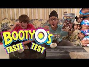 WWE NEW DAY'S BOOTY O'S CEREAL TASTE TEST