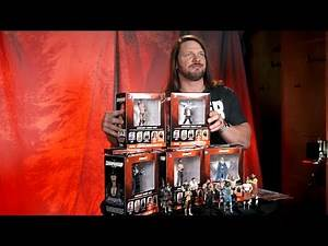 AJ introduces the collection WWE CHAMPIONSHIP COLLECTION