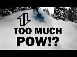 Snowboarding In SO MUCH SNOW!!