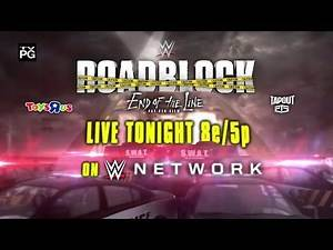 Roman Reigns challenges WWE Universal Champion Kevin Owens tonight at Roadblock: End of the Line