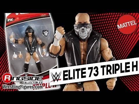 WWE FIGURE INSIDER: Triple H - Mattel WWE Elite 73!