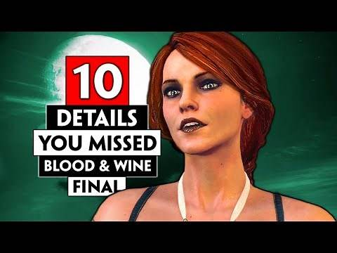 The Final Details You Probably Missed in Toussaint   THE WITCHER 3 (Blood and Wine)