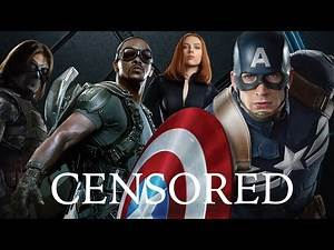 CAPTAIN AMERICA | Unnecessary Censorship | Try Not To Laugh