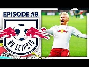 HÅLAND HAS ARRIVED! | RB LEIPZIG CAREER MODE #8