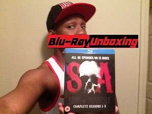 Sons of Anarchy-Seasons 1-5 Blu-ray Boxset-Unboxing & Series Impression