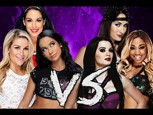 WWE 2K15: Divas Tag Team Elimination
