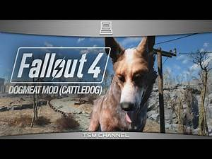 Fallout 4 Dogmeat Mod (Red Cattle Dog)