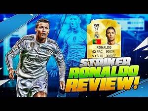 FIFA 16 STRIKER RONALDO PLAYER REVIEW - ST RONALDO is THE BEST PLAYER in FIFA 16 ULTIMATE TEAM