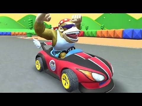 Mario Kart Tour - Jungle Tour All Cups (200cc) Funky Kong