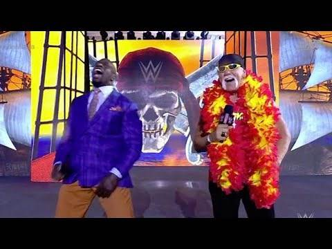 Hulk Hogan Gets Loudly Booed By Tampa Crowd At WrestleMania 37.
