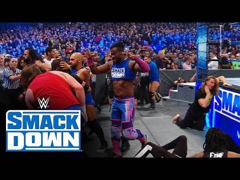 SmackDown, Raw and NXT brawl rages into the night: SmackDown Exclusive, Nov. 22, 2019