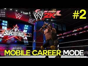 "WWE 2K Mobile My Career Mode - Ep. 2 - ""Rise of Chad!"" [WWE 2K15 Mobile Career]"