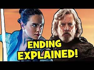 Star Wars The Last Jedi ENDING EXPLAINED + Episode 9 Theory