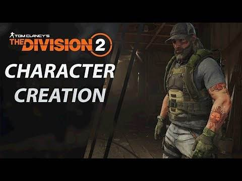 The Division 2 | Character Creation | Every Option | CenterStrain01