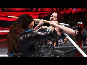 WWE 2K20 - NIA JAX VS LYA (EXTREME RULES) [FOR THE RAW WOMENS CHAMPION] | Extreme Rules