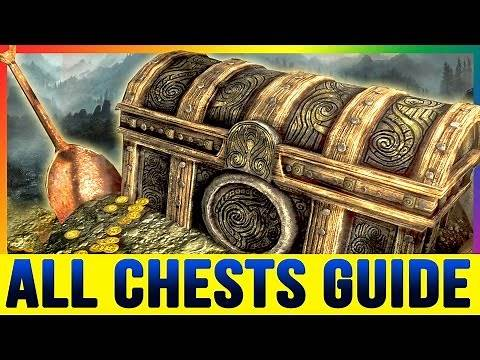 Skyrim Special Edition - ALL SECRET CHEST Silverdrift Lair (Locations Walkthrough Chests Guide)