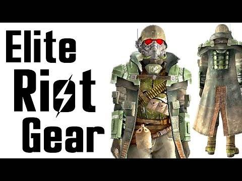 Fallout New Vegas: Elite Riot Gear Armor Location