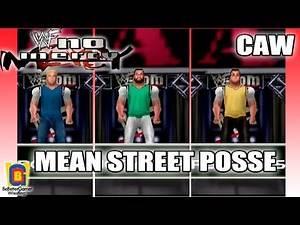 WWF No Mercy CAW - Mean Street Posse (Rodney/Joey Abs/Pete Gas) {BeBetterGamer}