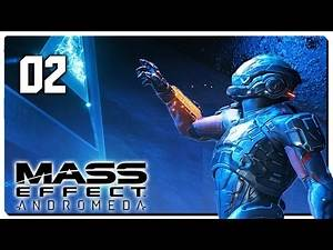 Let's Play Mass Effect Andromeda Blind Part 2 - Habitat 7 [Mass Effect Andromeda PC Gameplay]