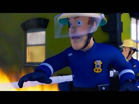 Fireman Sam US NEW Episodes | Space Train | 1 HOUR Compilation | Cartoon for Children