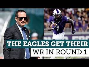 Why the Eagles drafted Jalen Reagor over Justin Jefferson | Quick Slants | NBC Sports Philadelphia