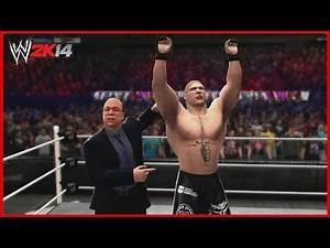 WWE 2K14 Created Superstars: Brock Lesnar (4 Attires)