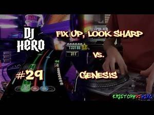 DJ Hero - Fix Up, Look Sharp vs. Genesis 100% FC (Expert)