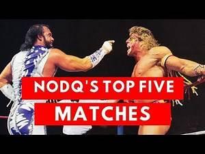 NoDQ's Top 5 Wrestlemania matches of the WWE/WWF Golden Era
