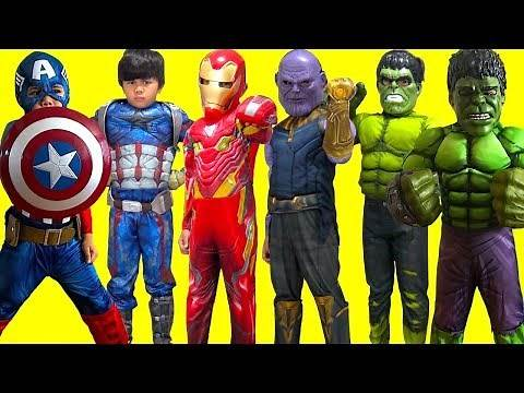 KIDS COSTUME RUNWAY SHOW BEST MOMENTS Superheroes Marvel Hulk DC Disney Dress Up Fun! TBTFUNTV
