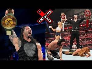 10 Last Second WWE Extreme Rules 2019 Rumors & Spoilers - Roman Reigns Wins 24/7 Title
