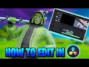 How to Edit Professional Fortnite Montages in Davinci Resolve - (Slow-mo, Shake, Demon Face, Etc.)