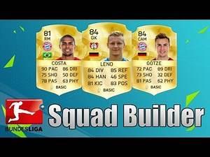 Fifa 16 Ultimate Team - 100K Bundesliga Squad Builder
