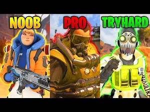 NOOB vs PRO vs TRYHARD - NEW Funny & Epic Moments | Apex Legends Montage #104