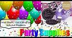 Cheap Party Supplies | Coloured Party Themes - Wow Party Supplies
