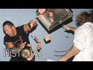 The Rock vs. Mankind in an empty arena during Halftime Heat: This Week in WWE History, Feb. 4, 2016