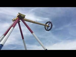 Wonder Woman Lasso of Truth Opening Day! Six Flags Great Adventure Off Ride POV