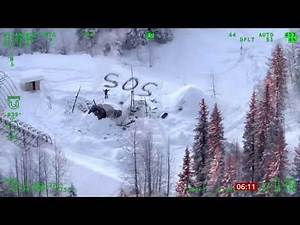 Lucky Escape - man survives 3 weeks in frozen wilderness (Alaska) - BBC News - 14th January 2020