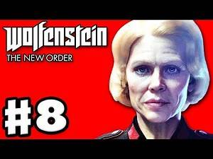 Wolfenstein: The New Order - Gameplay Walkthrough Part 8 - Undercover Prisoner (PC, Xbox One, PS4)