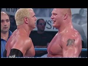 Brock Lesnar vs Hardcore Holly - WWE SmackDown 9/12/2002 (HD)