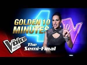 Golden 10 Minutes | Semifinals | The Voice Teens Sri Lanka