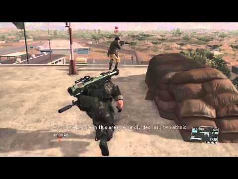 MGSV TPP : Episode 21 THE WAR ECONOMY ( S Rank + All Mission Task)