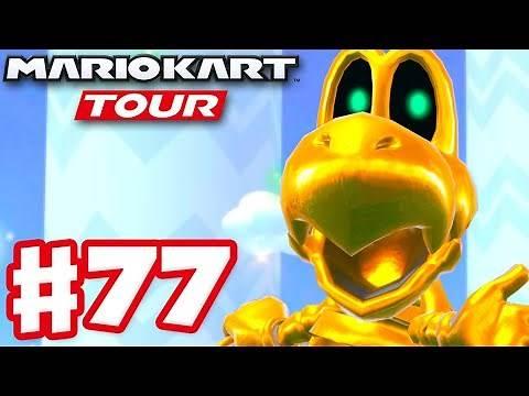 Trick Tour 100% Complete! Gold Dry Bones! - Mario Kart Tour - Gameplay Part 77 (iOS)