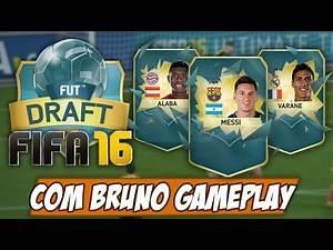 FIFA 16 FUT DRAFT - Vamos mais longe dessa vez?