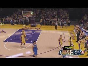 NBA 2K14 Next Gen My GM Mode Ep.44 - Los Angeles Lakers   Is This a Dunk Contest?   Xbox One