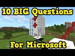 10 HUGE Questions I Still Have About Console Minecraft