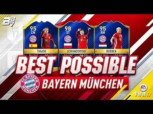 BEST POSSIBLE BAYERN MUNICH TEAM! w/ TOTS LEWANDOWSKI AND TOTS ROBBEN! | FIFA 17