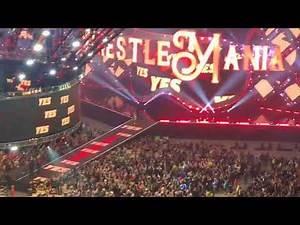 "Wrestlemania 34 Daniel Bryan ""Yes Movement "" Entrance (Fan Video)"