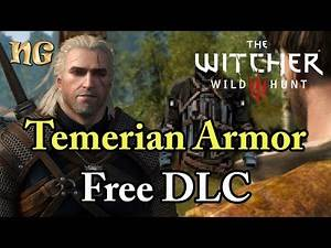 How to get the Temerian Armor on Witcher 3 Wild Hunt PC Version