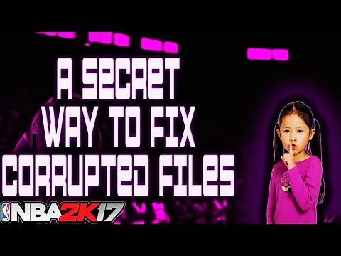 How To Fix NBA 2k17 Corrupted MYCAREER   New Unknown Way To Fix Corrupted Data After Patch 10