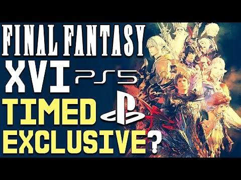 Final Fantasy 16 To be a Timed PS5 EXCLUSIVE? - More PS5 Reveal Updates